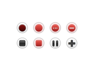 CSS Control Buttons