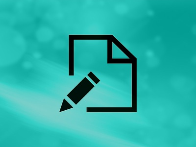 Write/Edit Icon icon vector illustration