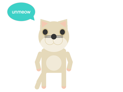 :target Cat cat illustration css css only