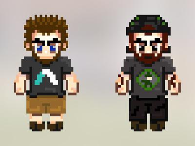 Pixels 8bit 16bit pixel art character design