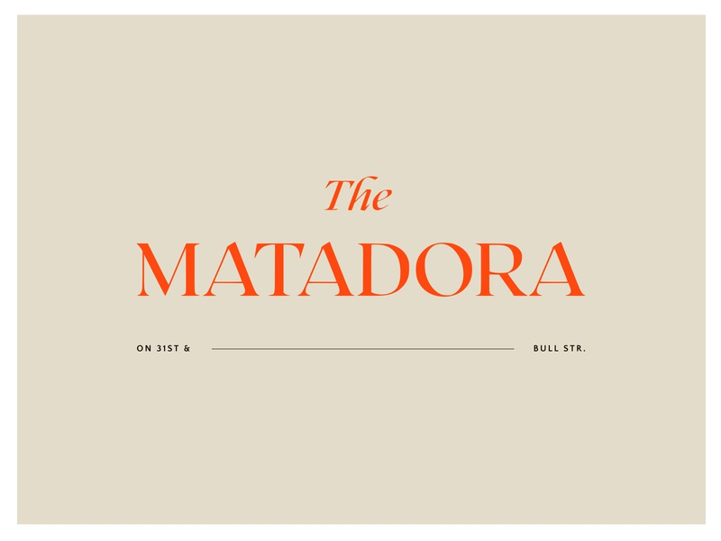 Matadora Identity Concept illustration logo design brand graphic design color palette typography branding logo identity design