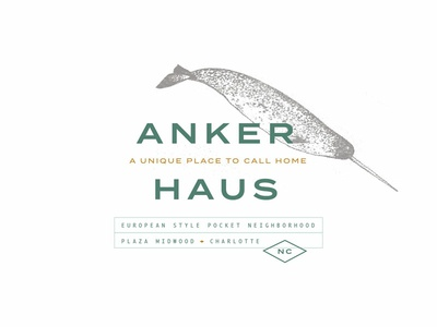 Anker Haus Identity illustration art vector logo design brand graphic design design illustration typography logo branding identity