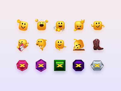 Roblox x Lil Nas X // Concert Emojis cute dolphin dance virtual concert emotes robloxpresentslnx roblox lil nas x emojis metaverse flossing