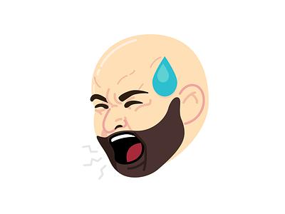 morgmoji kimoji mad vector emoji