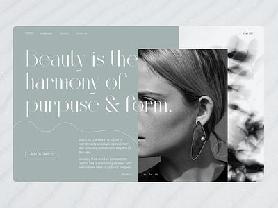 The Perfect Jewel beauty jewelry fashion ui design