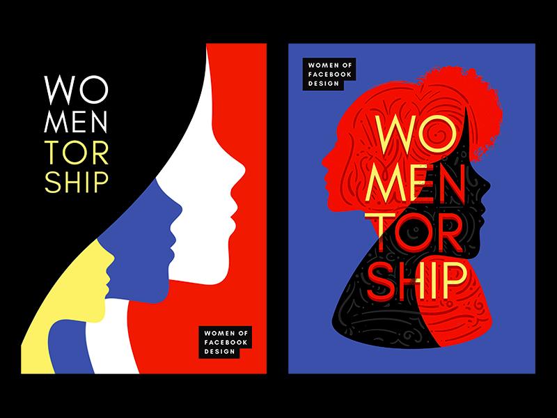 Mentorship Program Posters women mentorship poster