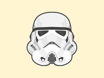 Just lookin for Droids illustration vector helmet jedi star wars stormtrooper