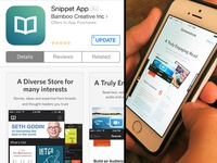 Snippet Reading App 1.2.4 ios7 update