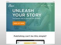 New Snippet Publishing Website