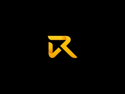 VR v r arrow upward finance logo forex