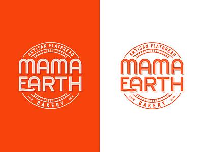 Artisan Bakery Logo logodesigner app logotype earth mama wordmark circular artisanbakery bakery artisan tonir emblem typography logodesign branding illustration logo