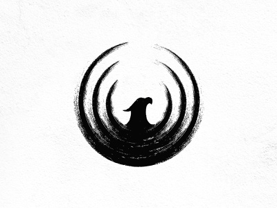 Phoenix motion app vector design illustration bird logodesigner branding calligraphy brush brand phoenix logodesign logo