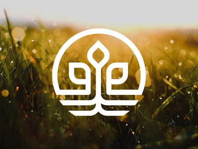 Organic Fertilizer Logo earth nature green infinite circular circle root plant roots leaf fertilizer organic design logodesign branding logo 3d