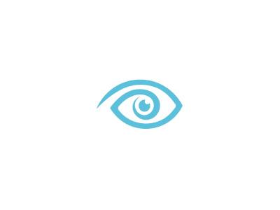 Eye eye pupil surgeon vision turquoise logo almosh82