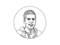 Sam Altman Portrait Illustration
