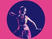 Indian Dancer- Illustration