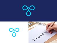 T Drop Logo