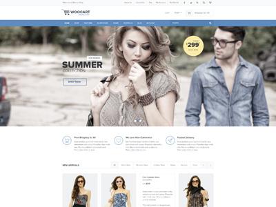 Wookart eCommerce Theme psd template shopping template shop psd shop psd template ecommerce psd ecommerce template ecommerce psd template clean modern