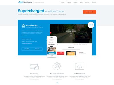 Skat Theme shop design theme shop wordpress themes wordpress theme shop skat design web design clean modern minimal