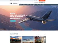 Transport - Logistic, Transportation & Warehouse Wordpress Theme