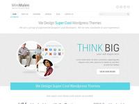 Minimalen Wordpress Theme