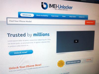 IMEI-Unlocker Mobile Unlocking by Sunil Joshi on Dribbble