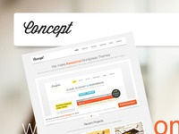 Concept Portfolio / Business Theme
