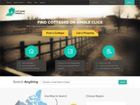 CottagePages.com website design