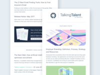 Beamery Marketing Email Template