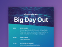 Beamery Team Big Day Out
