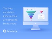 Beamery ads for LinkedIn