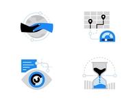 CDN Concept Illustrations