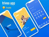 Triveo app ui