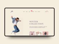 jibo fashion landing page