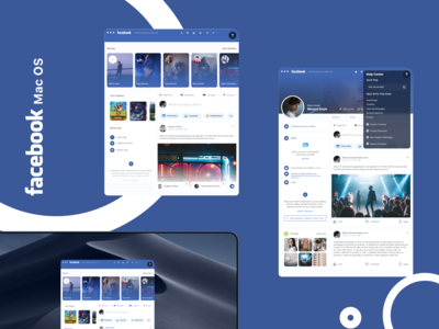 facebook mac os app ui
