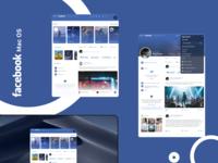 facebook mac os app ui