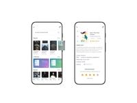 Book store - app ui