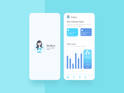 Dr.Riya logo ui sketch app app apps application mobile app  design design app ui