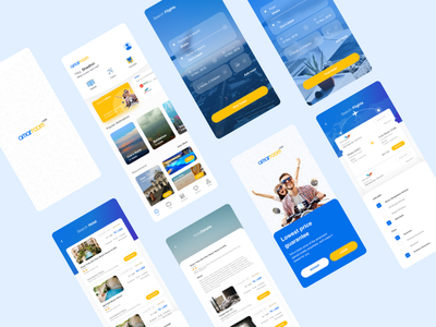 amarroom hotel booking app redesign