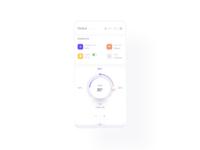 Smart Home App app mobile ui