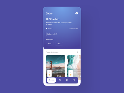 travel booking app ui oyorooms trivago airbnb ui ux design sketch