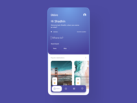 travel booking app ui
