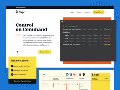 Skpr: Landing Page