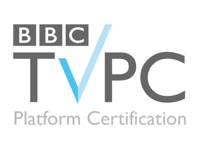 IPTV Logo design tv platforms tv certification tv bbc certification iptv logo bbc