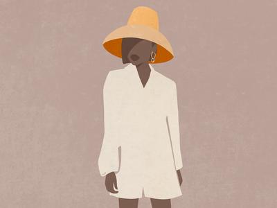 Tote Fashion Illustration