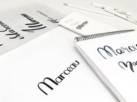 Marceau Logo Sketches