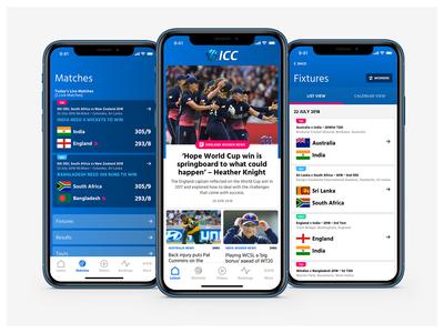 ICC App 🏏