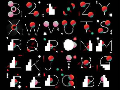 2021 Custom Type typography custom font font custome type type design flat vector illustration