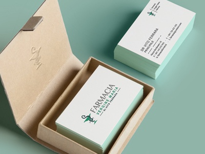 Pharmacy Business Card By Anna Dalessandro Dribbble Dribbble