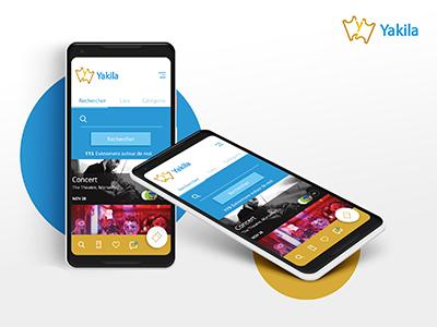 Yakila App Design 2